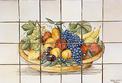 panneau décoratif le panier de fruits